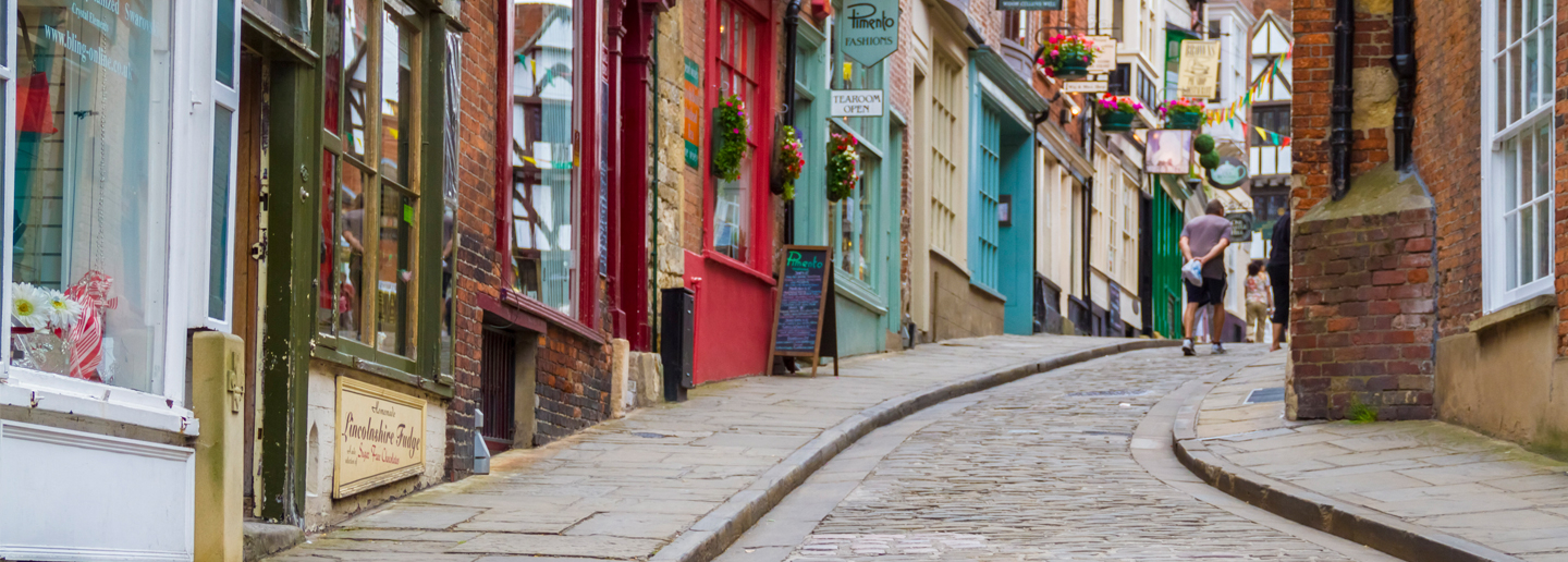 Bailgate and Steep Hill Shopping