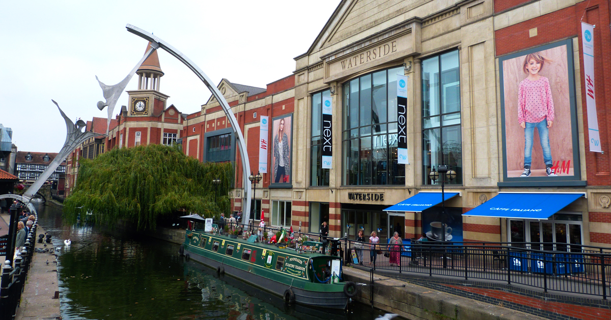 Waterside Shopping Centre In Lincoln Shop Lincoln