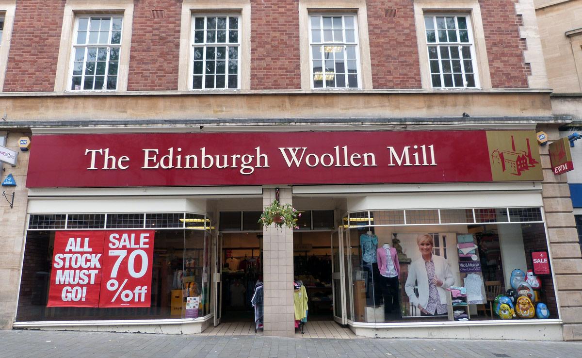 Edinburgh Woollen Mill Shop Lincoln